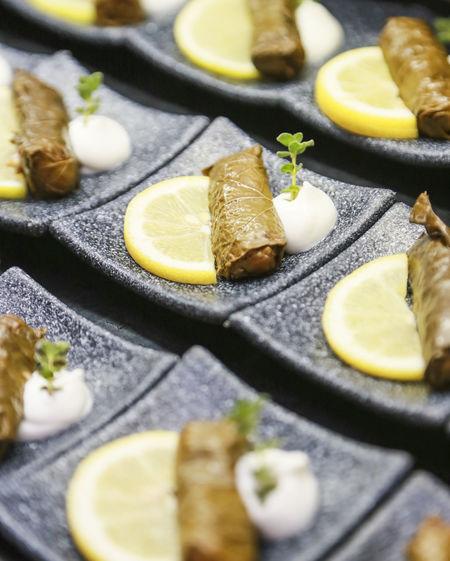 Food Citrus Fruit Food Freshness Indoors  Lemon Plate Selective Focus SLICE