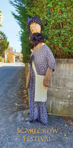 Scarecrow Festival EyeEm Selects Dressed Up Scarecrow Scarecrows Scarecrow Festival Scarecrow...👒🌾 EyeEm Best Shots Eye4photography  EyeEm Gallery EyeEmBestPics EyeEm Festival Competitions Scarecrow_contest Full Length Tree Standing Road Sky Trousers Wearing