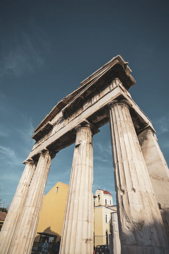 Athens Athens Greece Athens, Greece Architecture Built Structure Sky Architectural Column Low Angle View History The Past Ancient Old Ruin Travel Destinations Ancient Civilization Nature Day Tourism Old No People Travel Building Exterior Ruined Archaeology Outdoors Deterioration