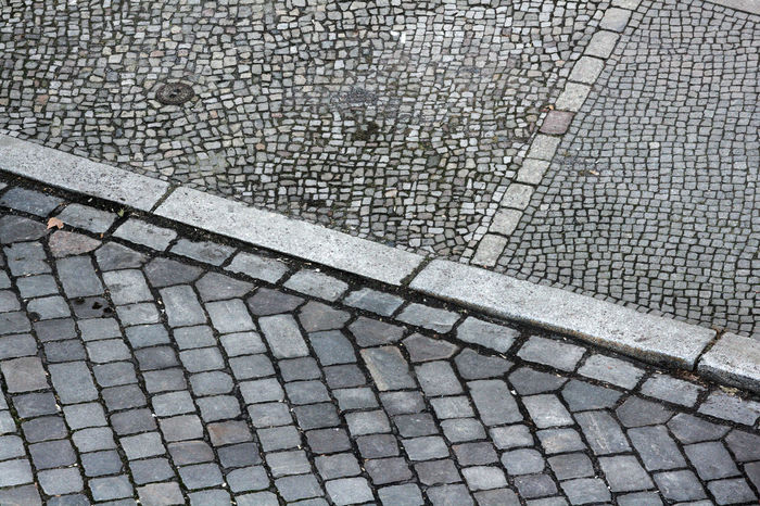 Backgrounds Cobblestone Footpath Gehweg Geometry Grey Greyscale Pattern Pieces Pattern, Texture, Shape And Form Paving Stone Sidewalk Street Structures & Lines Textures And Surfaces