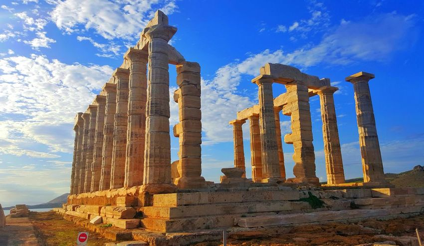 Greece Athens Photos Around You Popular Before Sunset Architecture Sunio