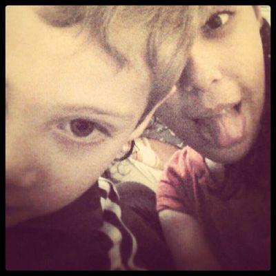 Bagunçando com o sobrinho hehe Anthony AmoAmoAmo