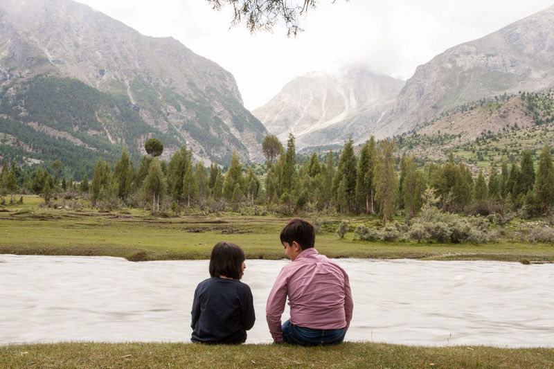 The Week On EyeEm Mountain Togetherness Nature Landscape Beauty In Nature Lake Water Skardu Pakistan Bashu Valley