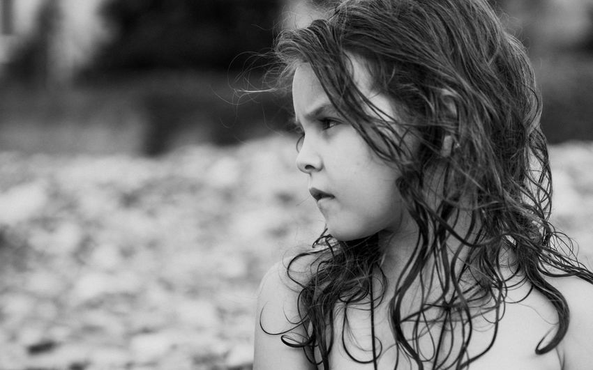 Beautiful Girl Fashion Beach Beautiful Child Childhood Close-up Day Focus On Foreground Girls Lifestyles Long Hair One Person Outdoors People Real People Sea Young Adult
