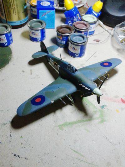 Hawker Sea Hurricane MkII C Ww2warbirds Ww2 Model Airplane Model