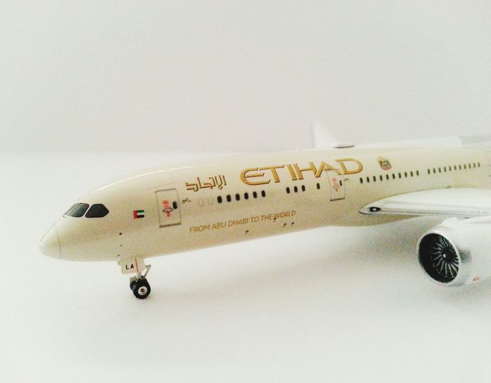 Aircrafts Etihadairways Boeing 787
