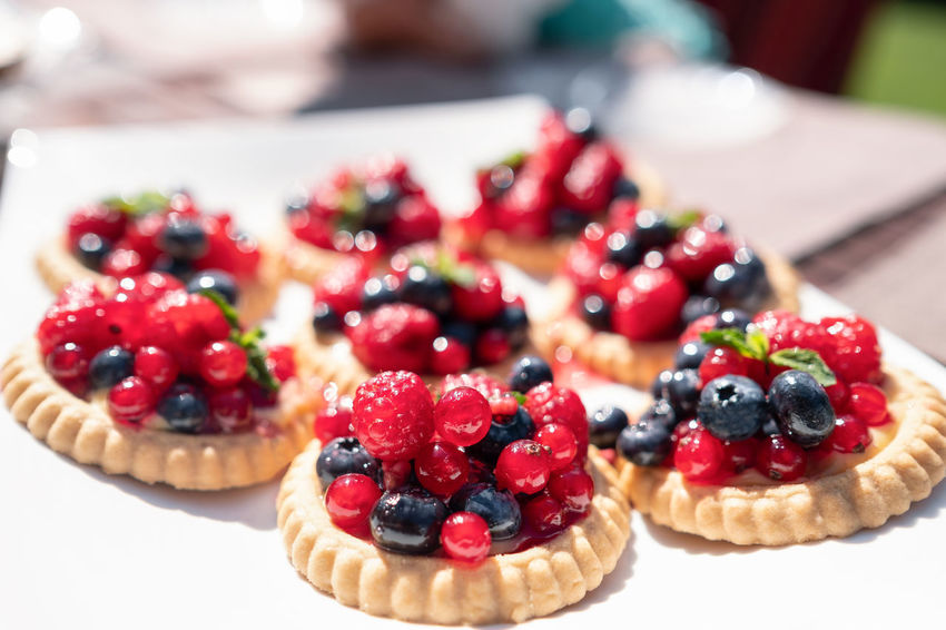 Bright Cookies Homemade Berry Fruit Blueberry Close-up Dessert Focus On Foreground Food Food And Drink Freshness Fruit Indulgence Mint Leaf - Culinary No People Raspberry Ready-to-eat Red Currant Snack Still Life Sweet Sweet Food Table Tart - Dessert Temptation