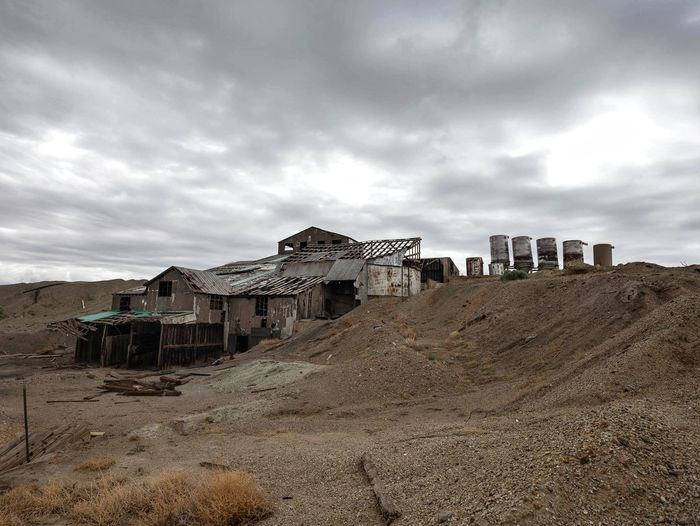 Mill Utah Sky Cloud - Sky Ghost Town Ruined Abandoned Deterioration Run-down Bad Condition Weathered Discarded Old Ruin Rotting