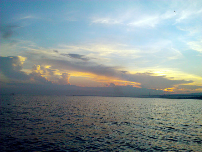 Bali, Indonesia Beauty In Nature Cloud - Sky EyeEm Best Shots EyeEm Best Shots - Nature EyeEm Nature Lover EyeEm Sky Lover Horizon Over Water Noedit #nofilter #notneeded Ocean Outdoors Seascape Sunrise_Collection Tranquil Scene