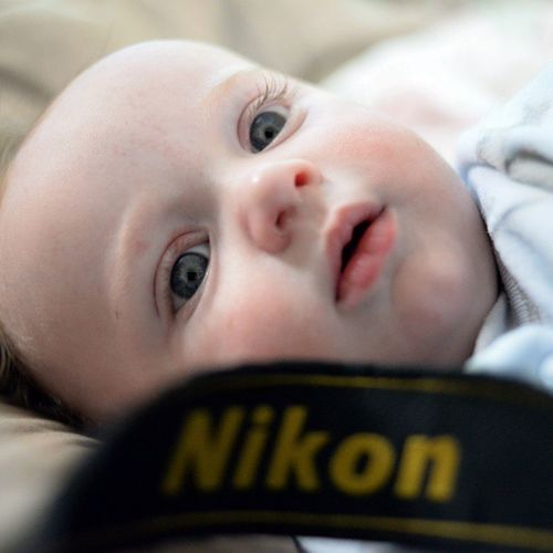 My Son Rilee at 6months ... Baby Infant Child Handsome Beautiful Gorgeous Nikon Babylife Happy Cute Eyes PicturePerfect