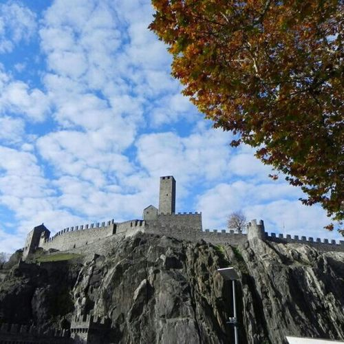 Bellinzona Sky Castle Clouds