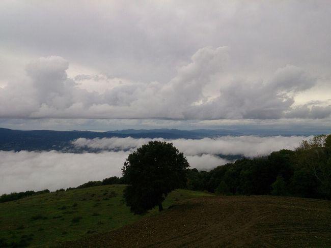 Vista del Vallès desde el Montseny. Catalunya