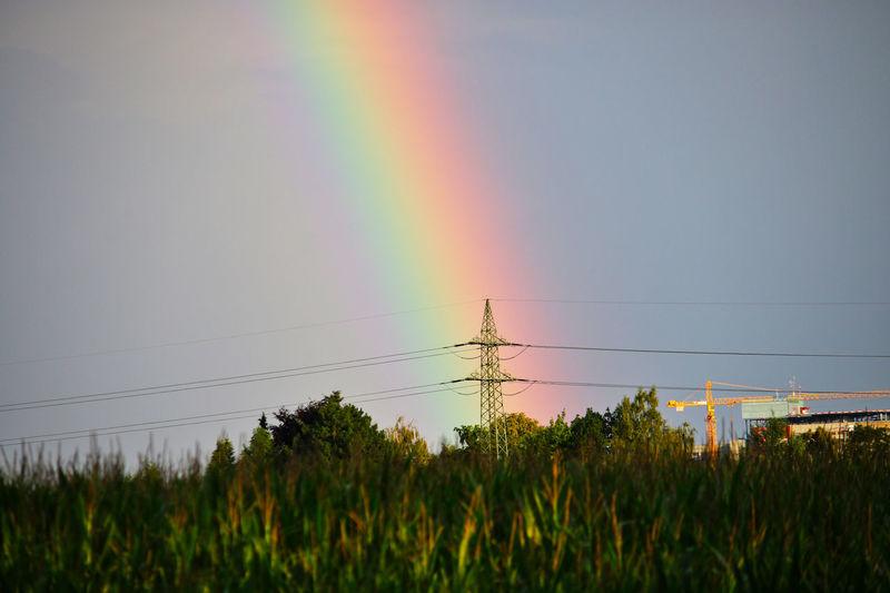 Rainbow strikes
