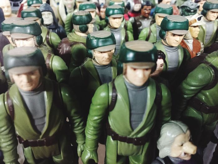 Star wars High Angle View Army Men Green Color Protective Mask - Workwear Large Group Of People Day Close-up Military Only Men Adults Only People Military Uniform Outdoors Headwear Adult Crowd Army Soldier