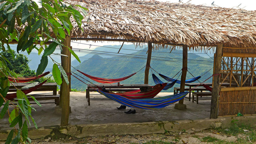 hammock Hammock Hängematte Leafes Mountains Nature Outdoors Resting Tranquil Scene Travel Photography