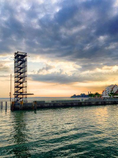 Moleturm in Friedrichshafen Am Bodensee Lake Constance Tower