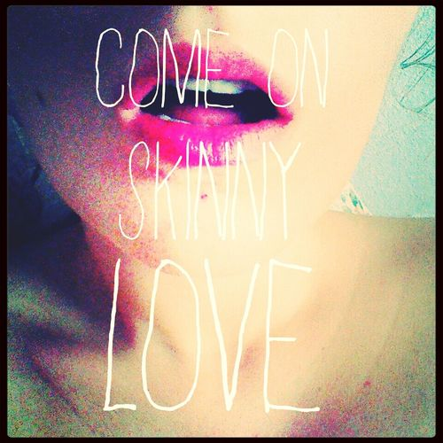Skinny love. Love Birdy Pink Lips Girl