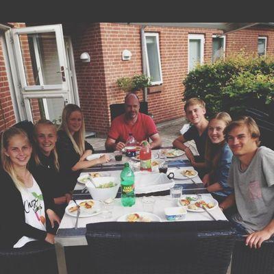BBQ Dinner Family