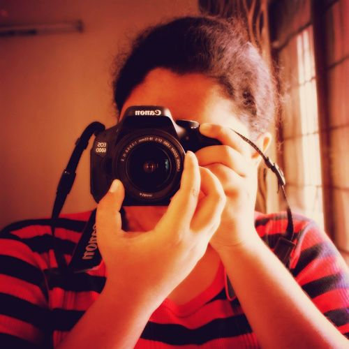 Portrait Of America Canon EOS 600D DSLR Selfshot Loved It ♥`