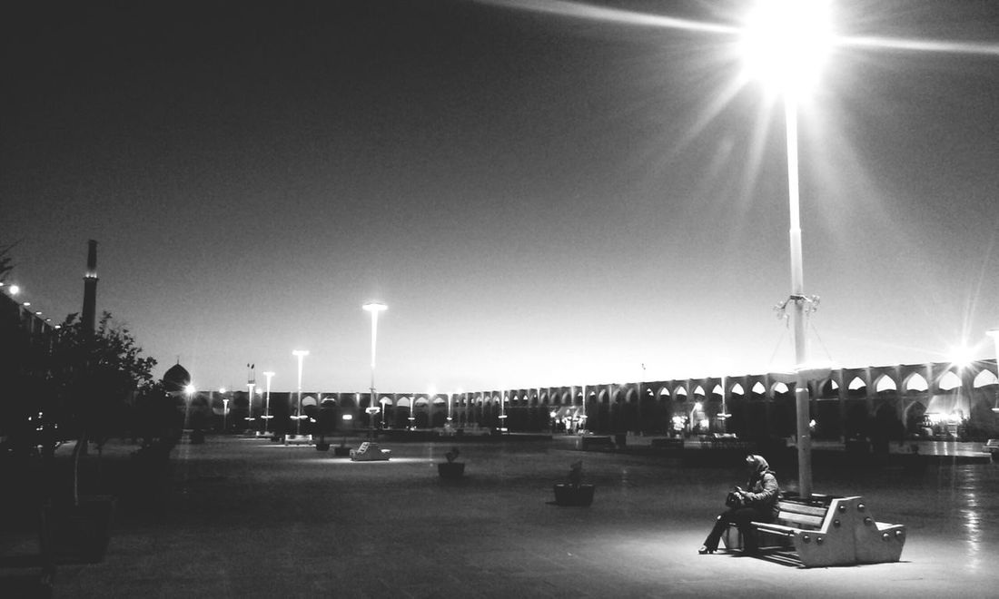 Waiting For Sunset In B&W Sky Night Outdoors The City Light Lifestory Iran Isfahan Esfahan Should Be Here Blackandwhite Black And White Black&white Black & White Black And White Photography MJ028