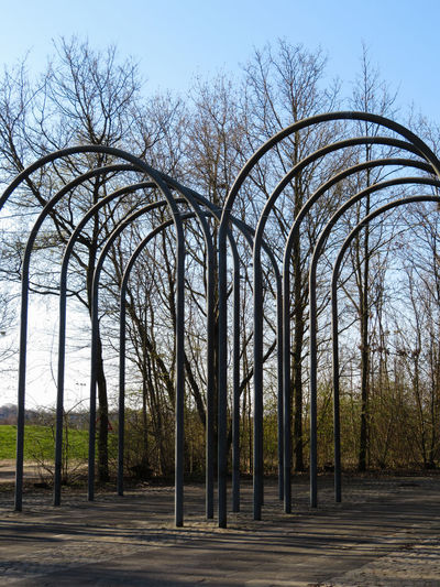 Arch Clear Sky Sky Iron - Metal Tall - High Parallel Archway My Best Photo