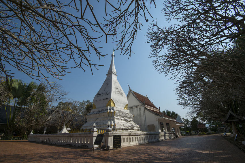 Pagoda Loei,thailand Outdoors Place Of Worship Religion Spirituality Srisongrak Travel Destinations
