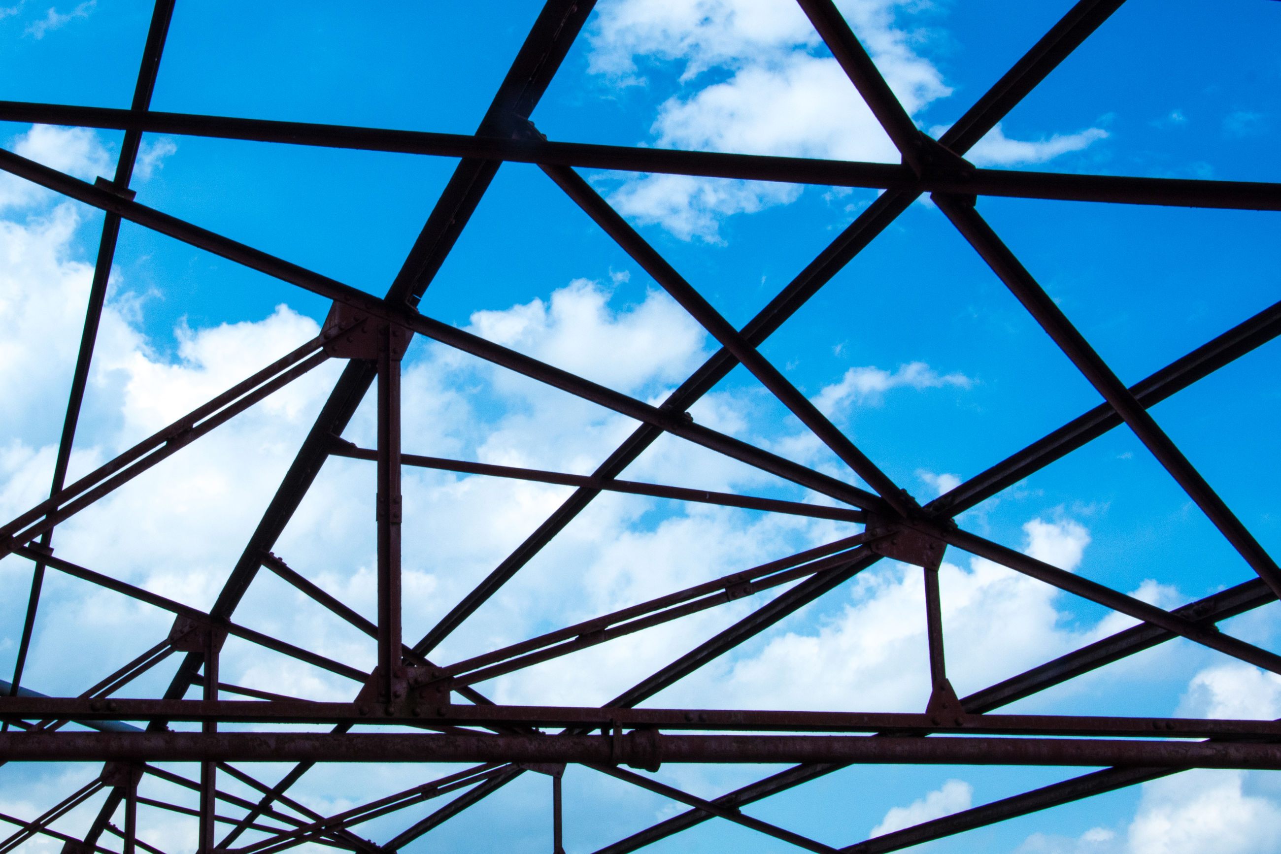 cloud - sky, sky, low angle view, day, no people, blue, built structure, architecture, indoors, close-up, nature