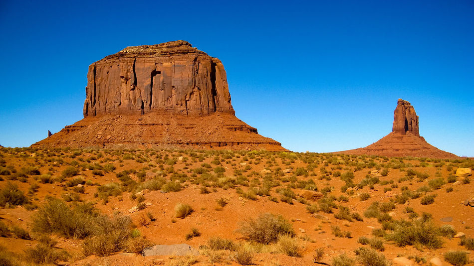 Monument Valley Rock Formation Rock - Object Rocky Landscape Geological Formation USA Sandstone Rocks Eroded Rocks Sandstone Geological Formations Scenic Landscapes Wind Erosion The Old West Old West  Eroded Physical Geography Rocky Mountains National Parks Natural Eroded Mountain Western USA