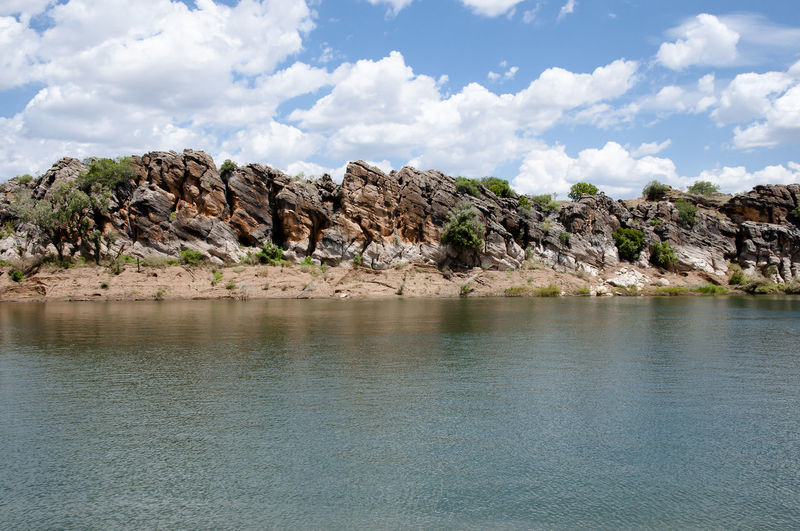 Geikie Gorge National Park - Kimberley - Australia Australia Geikie Gorge Kimberley National Park Western Australia Rock Formation