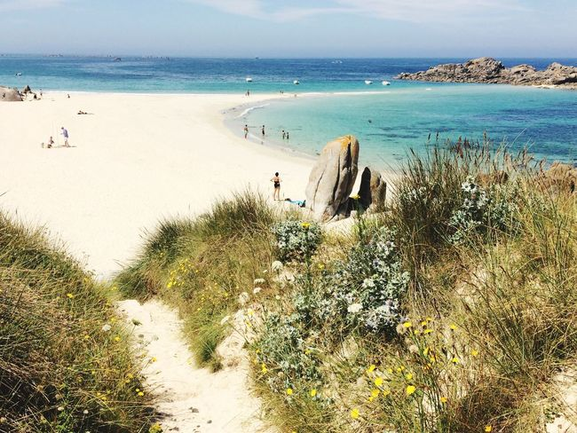 FinistèreNord Sea Water Beach Land Sky Beauty In Nature Nature