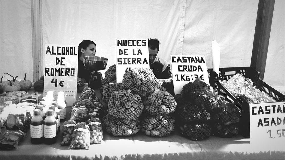 Aracena Huelva Black And White Bazaar