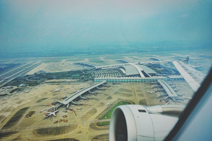 China Photos Take Off Runway Traveling In The Terminal Birdview Airport From An Airplane Window Fresh Scent Streamzoofamily