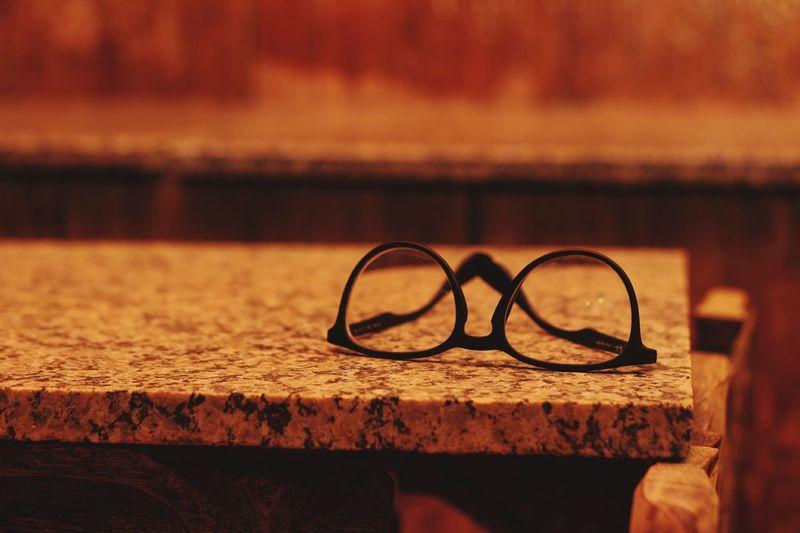 Creation Red Black Table Minimal Minimalism Art Befree Instinct EyeEm Selects Water Eyewear Eyesight Close-up Glasses