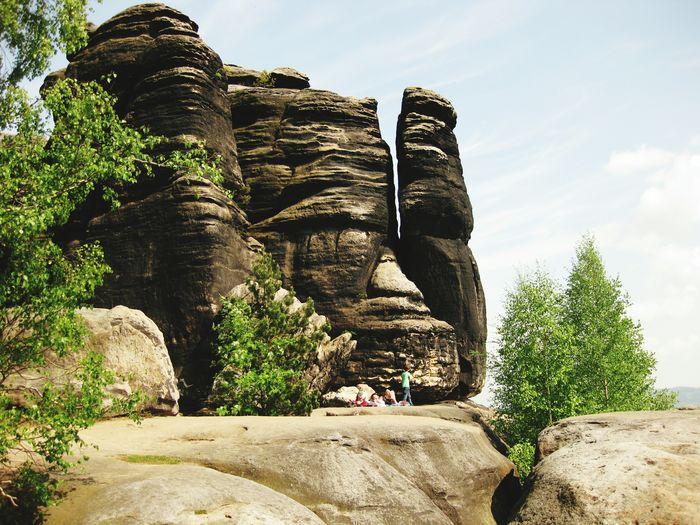 Hikingadventures Romantic Place Beauty In Nature Elbsansteingebirge Outdoors