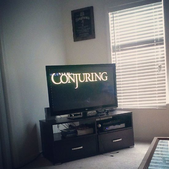 Theconjuring  Scary Fuckthisshit Imout omg movienight