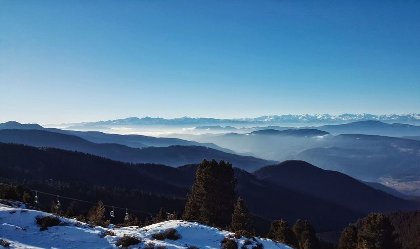 Blue Mountain Copy Space Snow Mountain Range Forest Landscape Sky Winter Tree Scenics Nature Beauty In Nature Outdoors Cold Temperature No People Mountain Peak Day Freshness First Eyeem Photo Hanging Out Taking Photos EyeEm Gallery Hello World Check This Out