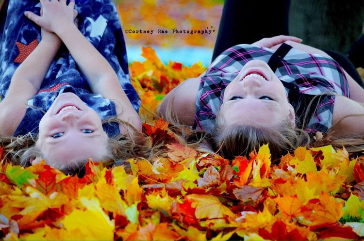 Autumn Colors Cortney Rae Photography Color Portrait Beautiful