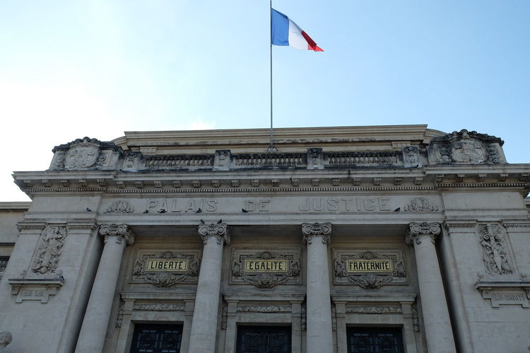 Vive la France Architectural Column Architecture Building Exterior Built Structure City Day Flag French Values Government No People Outdoors Politics And Government Sky Tricolore Vive La France