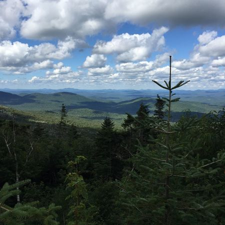 Lake Placid Adirondack Mountains Whiteface Mountain View Sky Clouds Nature Cloud - Sky Growth Scenics Beauty In Nature Landscape Tranquility Mountain Outdoors Plant Day Grass No People