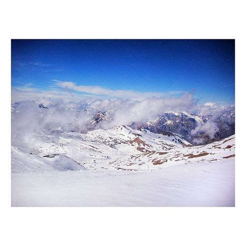 Lesdeuxalpes Nature Photography Mountain View Shades Of Winter Snow Nature Beauty In Nature Landscape Mountain Sky Winter Outdoors Scenics