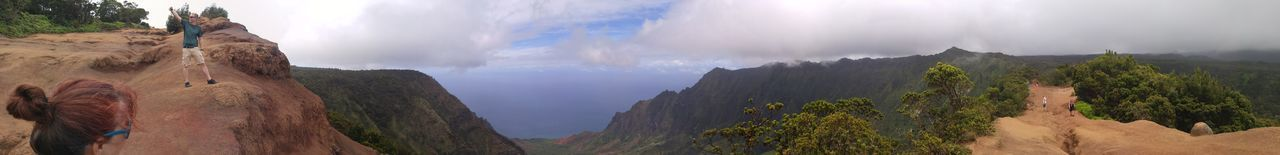 Na Pali Coast Panarama Panaroma Sky And Clouds Panaramic Panaroma Photography Panaromic Panaromic View Panoramic Photography Lost In The Landscape