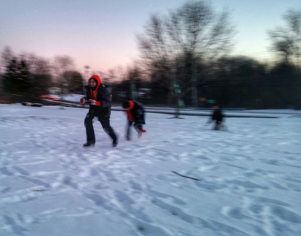 Everyday Joy Tadaa Community Snow Football On The Move
