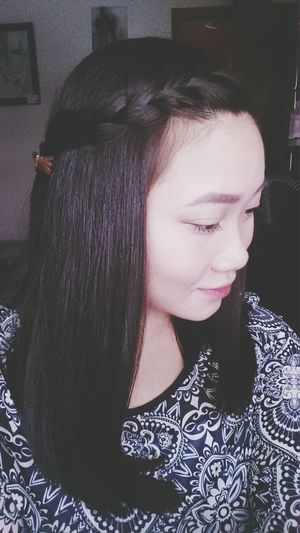 Sidebraids Hairstyle Selfportrait Hair