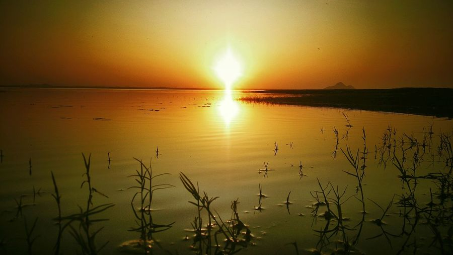 Darkness And Light Water Reflections Sunset_collection Eye Em! Eye Em Best Shots Eye Em Travel Goldenhour Eye Em Nature Lover Mobile Photography Waterscape by sony xperia zr......