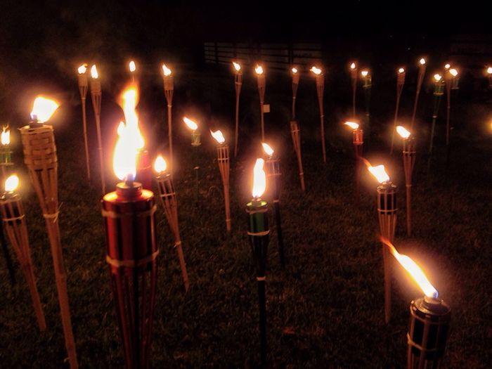 Litha/ San Juan/ Bonfire night rituals Midsummer Summer Nightphotography Lights Torches Fire Night Rituals & Cultural Ritual Bonfire Pagan Litha Paganism Folklore