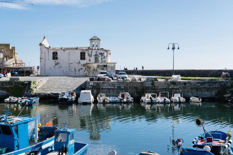 Pozzuoli, the little harbor called Valione Architecture Bay Of Naples, Italy. Church City Cityscape Day Fishermen's Life Harbor Napoli Nautical Vessel No People Outdoors Pozzuoli Sky Urban Skyline Water