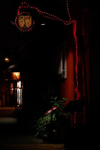 ちょっと寄り道。 Architecture Built Structure Dark Decoration Glowing Illuminated Lighting Equipment Night No People Street Photography Streetphotography