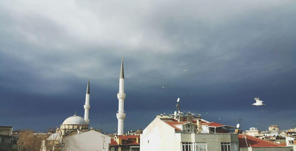 Pendik, İstanbul. Istanbul Estambul Turkey Turquia Pendik Manzara Cityscape Camii Mosque Mezquita Sky Skyporn Dramatic Sky