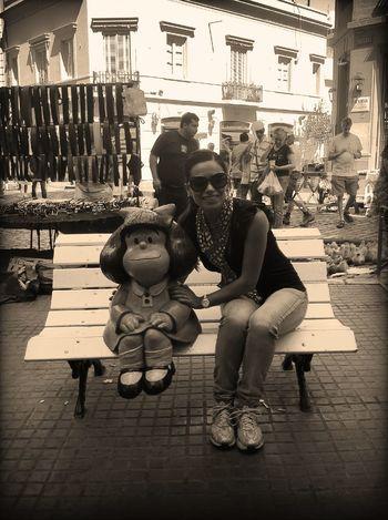 at Monumento Mafalda