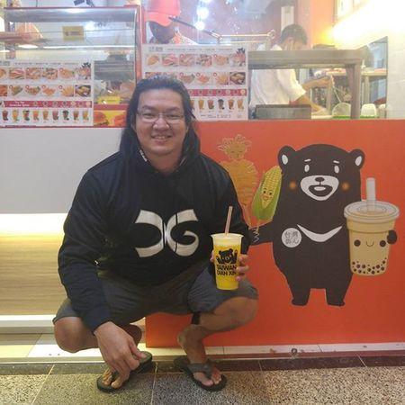 Dudu Orange-nya enak @taiwandianxinbandung ... Crazy Silly Twins Soulmate Mascot Kuma Bear Taiwandianxinbandung Ultimategears UltimateNutrition Drinks Snack Food Val  2016 LG  G4 LGG4 😚